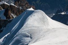 Mont Blanc, Mont Blanc masyw, Chamonix, Alps, Francja Obrazy Stock