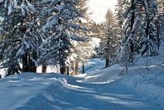 Mont Blanc - montaña - La Thuile - Fotografía de archivo