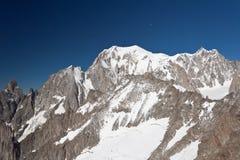 Mont Blanc - Monte Bianco Fotografie Stock