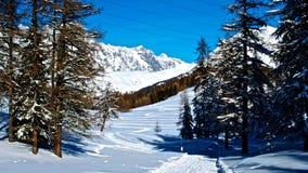 Mont Blanc - Mountain - La Thuile - Stock Photos