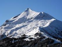 Mont Blanc neigent montagne Image libre de droits