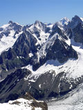 Mont blanc region 3 royalty free stock photography