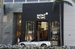 Mont Blanc Store Imagens de Stock