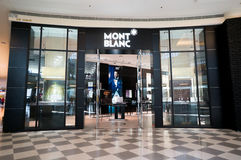 Mont Blanc Store Stock Photo