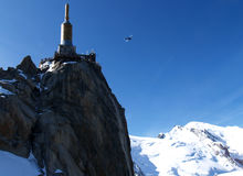Mont Blanc summit Royalty Free Stock Image