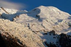 Mont Blanc Summit Fotos de archivo libres de regalías