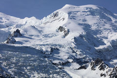 Mont Blanc Summit Stock Image
