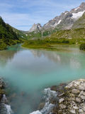 Mont Blanc - valle di Veny Immagine Stock Libera da Diritti