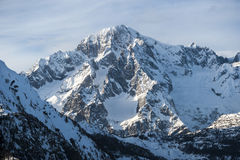 Mont Blanc view Royalty Free Stock Photo