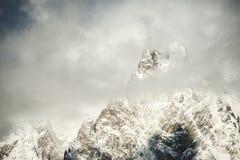 Mont Blanc view Royalty Free Stock Photo