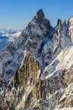 Mont blanc view Royalty Free Stock Photography