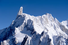 Mont blanc view Stock Photo
