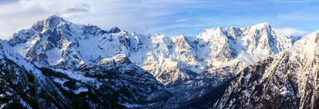 Mont blanc view Stock Photography