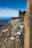 Mont Blanc Viewing Point Royalty Free Stock Photo