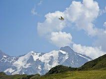 Mont Blanc von Les Saisies Stockfotografie