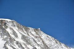 Mont Blank-Gebirgsmassiv lizenzfreie stockfotos