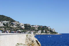 Mont Boron, Nice, France Royalty Free Stock Photos