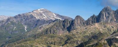 Mont Buet and Aiguille du Pouce Stock Photography