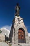 Mont Chetif, small chapel Royalty Free Stock Photo