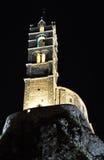 Mont d'Aiguilhe at Le Puy en Velay Stock Photography