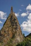 Mont d'Aiguilhe przy Le Puy En Velay Obrazy Royalty Free