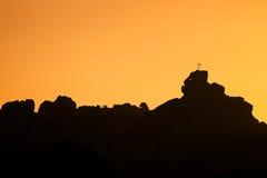 Mont de la Trinité near Bonifacio in Corsica Royalty Free Stock Photo