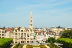 Mont des Arts άποψη Στοκ φωτογραφία με δικαίωμα ελεύθερης χρήσης