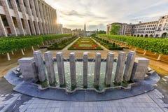 Mont des Arts - Βρυξέλλες, Βέλγιο Στοκ φωτογραφίες με δικαίωμα ελεύθερης χρήσης