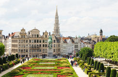 Mont des Arts, Brussels Royalty Free Stock Images