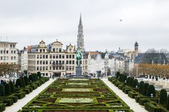 Mont des Arts in Brussels royalty free stock photography