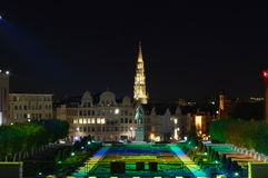 Mont des arts, Bruxelles, Belgium. Stock Photos
