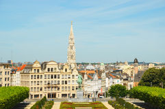 Mont des Arts point of view royalty free stock photo