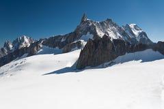 mont du вдавленного места blanc geant Стоковая Фотография RF
