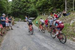 The Cyclist Reto Hollenstein - Tour de France 2017 stock image