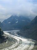mont för mer för blancde glace Arkivbilder