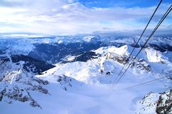 Mont Fort Verbier Royalty Free Stock Image