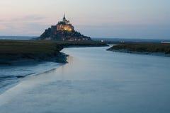 Mont heilige Michel Stock Fotografie