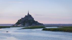 Mont heilige Michel - Normandië - Frankrijk stock footage
