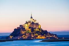 Mont Heilige Michele Royalty-vrije Stock Foto's