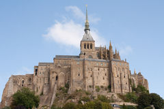Mont Heiliges Michel Stockbild