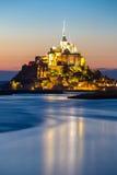 Mont Heiliges Michele Stockfotografie