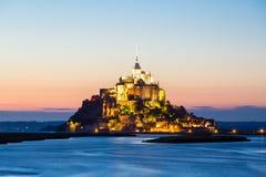 Mont Heiliges Michele, Frankreich Stockfoto