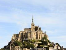 Mont helgon-michel abbotskloster, Normandie Royaltyfri Bild