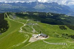 Free Mont-Joly Hiking Area Stock Photo - 134930530