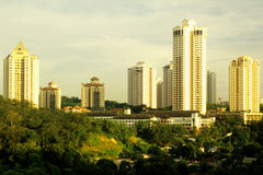 Mont Kiara Kuala Lumpur Royalty Free Stock Photography