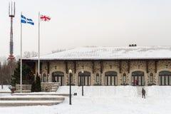 Mont-kunglig person chalet i Montreal Royaltyfria Bilder