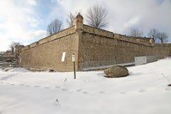 Mont-Louis, Languedoc Roussillon, de Pyreneeën, Frankrijk Royalty-vrije Stock Foto