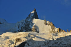 Mont Mallet Stock Photo