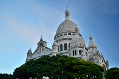 Mont Matre. Church in the morning Royalty Free Stock Images