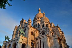 Mont Matre 2. Mont Matre church in the morning Royalty Free Stock Image